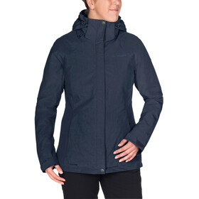 VAUDE Caserina 3in1 Jacket Damen eclipse/fjord